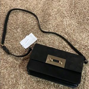 NWT & Other Stories Suede Leather Crossbody Bag